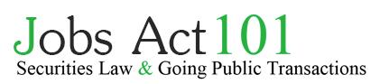 Jobs Act 101